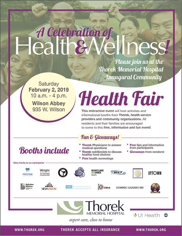HealthFairFlyer